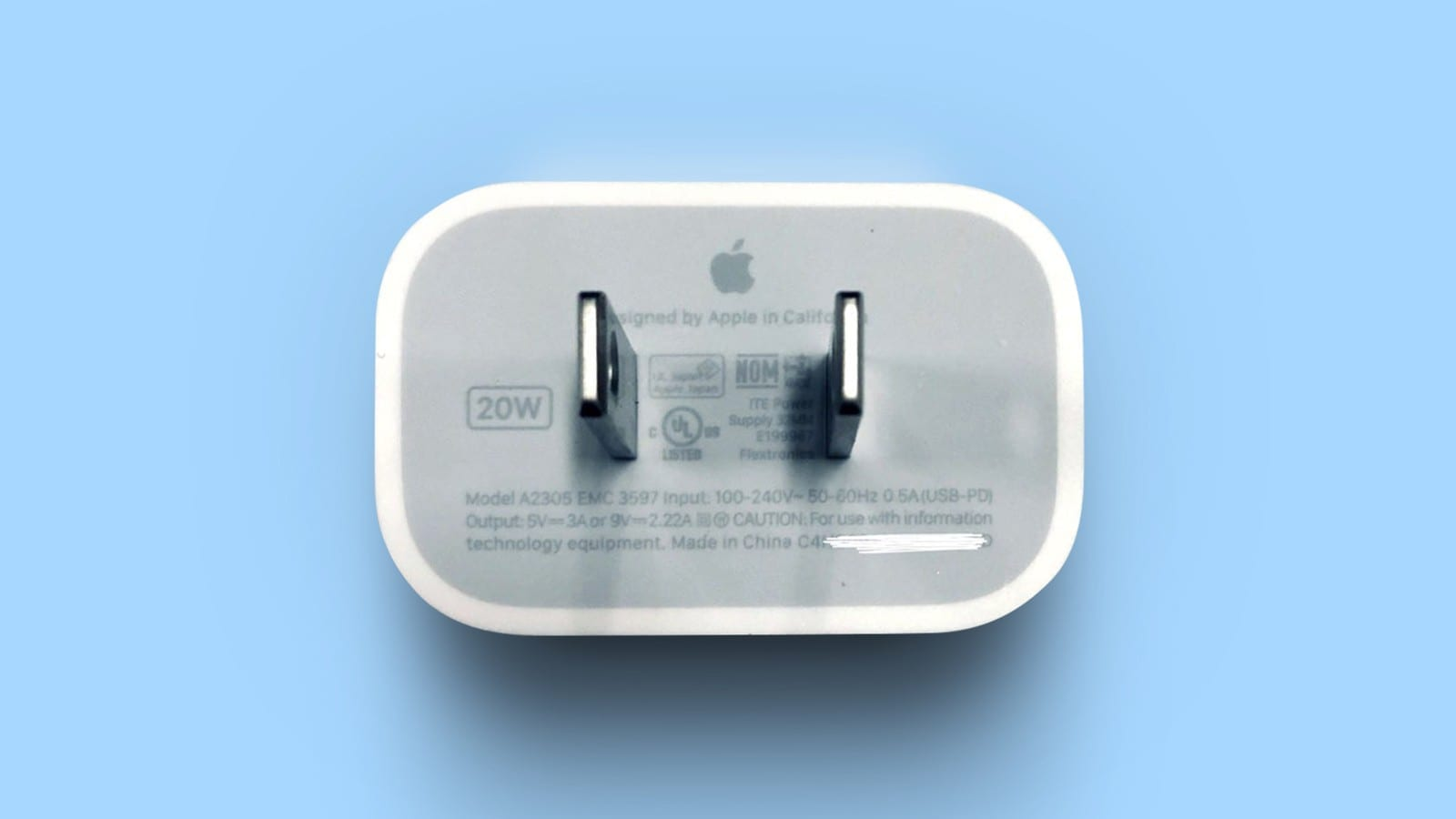 iPhone 12 charger