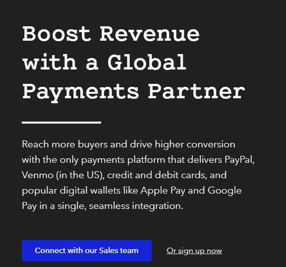 braintree online payment solution