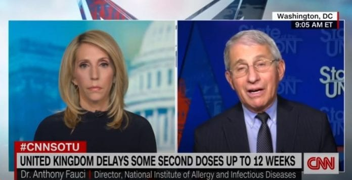 Dr. Fauci explains why we might be wearing masks in 2022