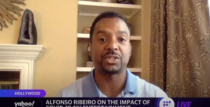 Alfonso Ribeiro on diversity in Hollywood and the impact of COVID-19 on the entertainment industry