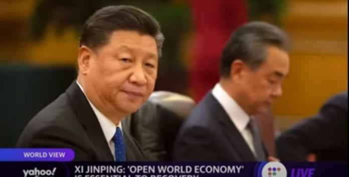 China's President Xi Jinping says 'open world economy' is essential to recovery