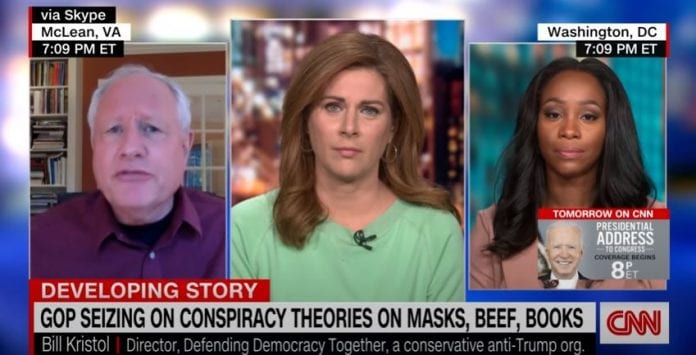 'Completely fabricated': Burnett calls out GOP's false conspiracies