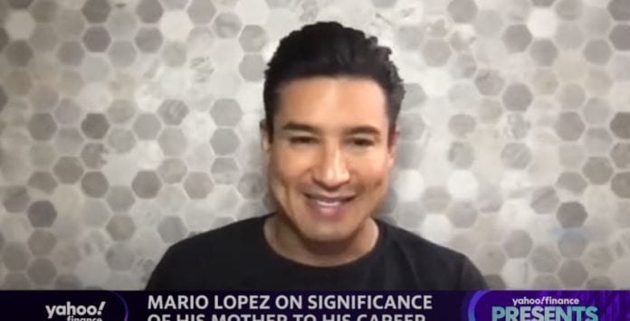 Mario Lopez on his success, 'I owe everything to my mom'