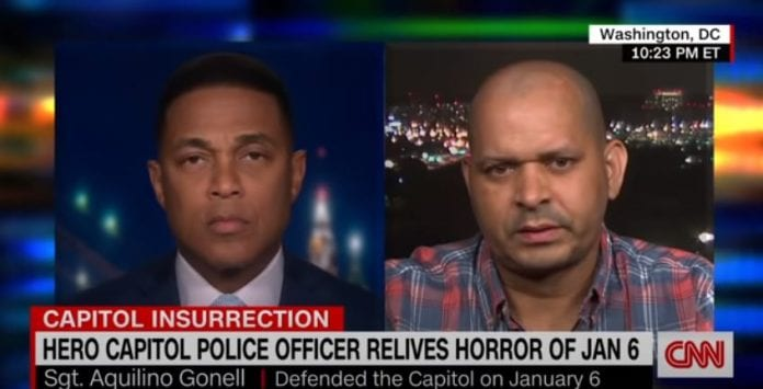 'A betrayal': Capitol Police officer on those who deny insurrection