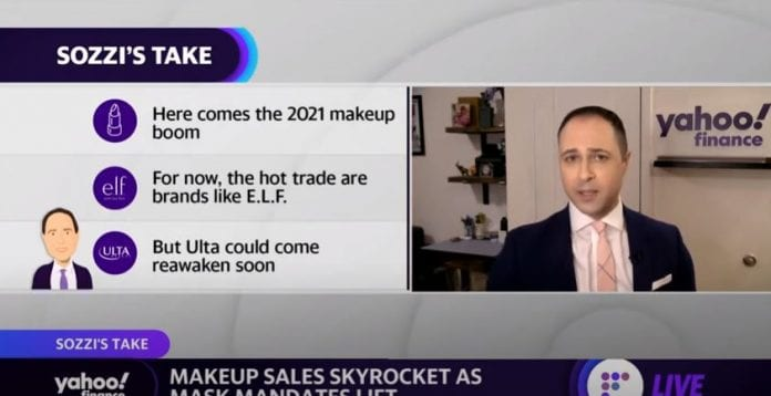Cosmetic sales soar as mask mandates are lifted