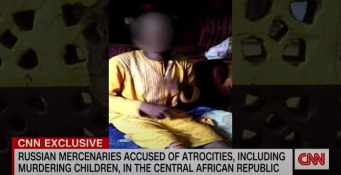 Russian mercenaries accused of atrocities in the Central African Republic