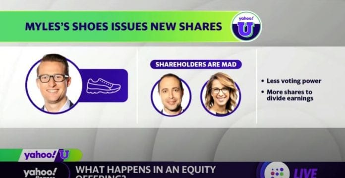 Yahoo U: What happens in an equity offering?