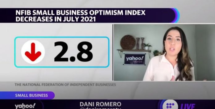 Small business optimism dips in July amid labor shortage concerns