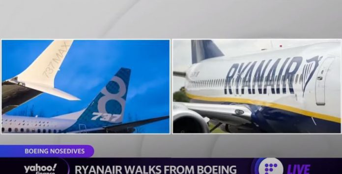 Ryanair walks away from Boeing deal over price differences