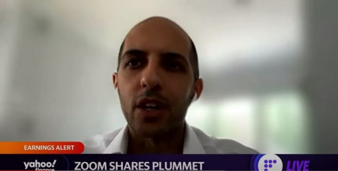 Zoom shares plummet: In the near term expect a choppier growth trajectory for zoom: Analyst