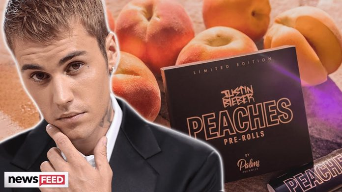 Justin Bieber Launches Cannabis Line With 'Peaches'-Inspired Products