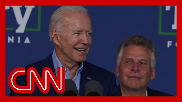 Is President Biden a drag on his party? Voters in Virginia may give an answer