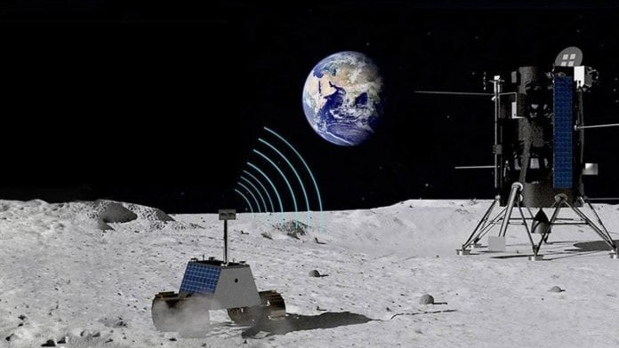 4G Network on the Moon