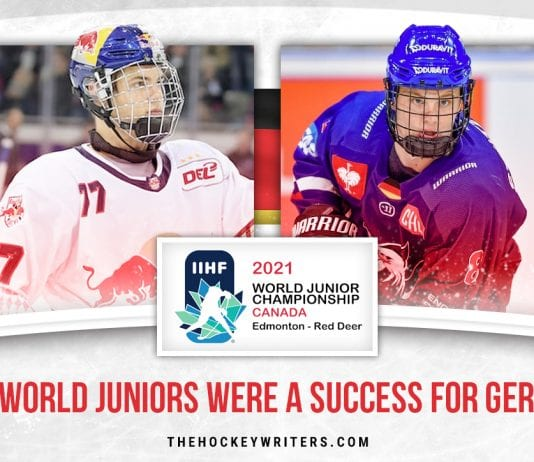 2021 World Juniors Were a Success for Germany