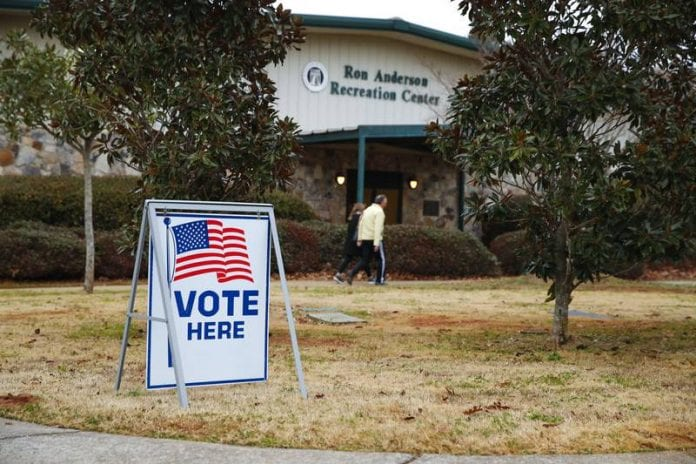 Threats reported at polling places in NE Ga