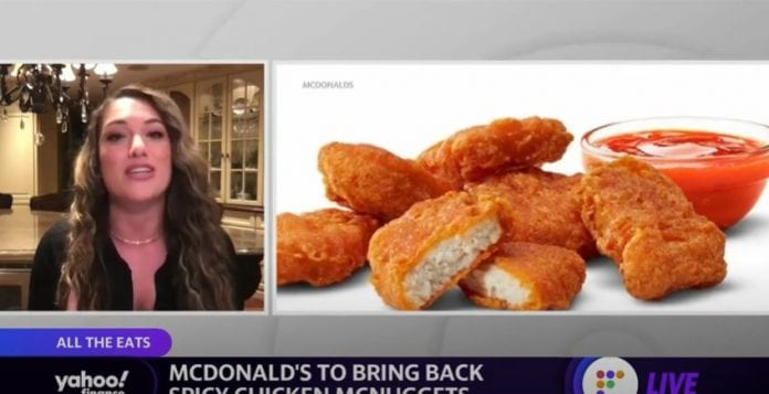 Chicken wars heat up as McDonalds brings back Spicy Chicken McNuggets and introduces new sandwiches