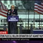 Dominion sues Rudy Giuliani for $1.3 billion over false election claims