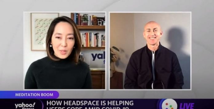 Headspace CEO discusses growth in business as more people look to meditation amid COVID-19