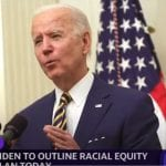 President Biden outlines his agenda for racial equity