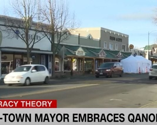 Some residents of town want pro-QAnon mayor removed from office