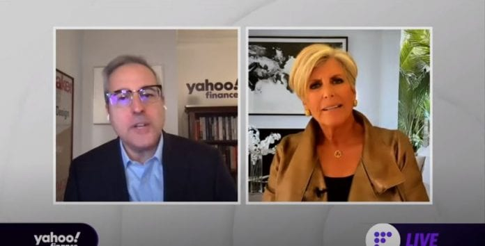 Suze Orman talks financial security and the need for everyone to have an 8-12 month emergency fund