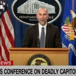 Watch DOJ, FBI briefing on pro-Trump Capitol riot