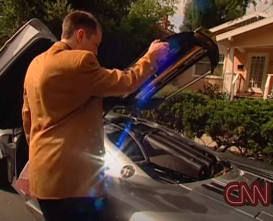 Watch a young Elon Musk get his first supercar in 1999