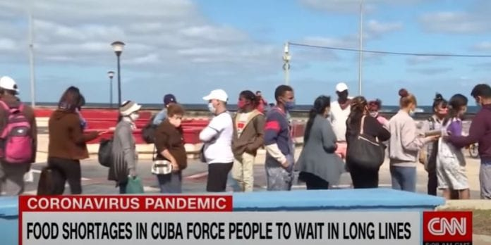 CNNi: Food crisis worsens in Cuba as coronavirus spikes