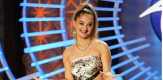 Claudia Conway on American Idol