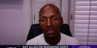 NBA star Ray Allen discusses his son's diabetes and the fight for social justice and equality
