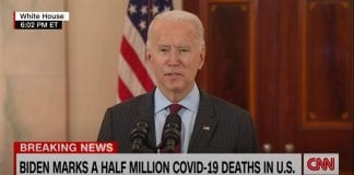 'Resist becoming numb to the sorrow' - President Biden pays tribute to 500K dead