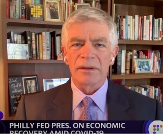 At this point we don't see inflation running out of control: Philadelphia Fed President