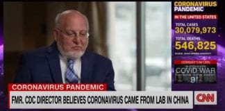 Ex-CDC boss believes Covid-19 virus came from China lab