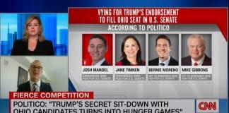 Reporter reveals what happened at Trump's secret meeting with candidates