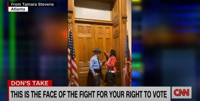 See Don Lemon's reaction to Georgia's new voting law