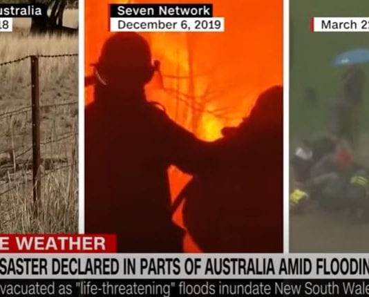 See video of 'life-threatening' floods in Australia