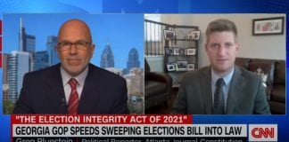 'Solution in search of a problem': Smerconish looks at Georgia election law