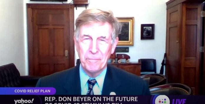 Stimulus: Should the stimulus be more targeted? Rep. Don Beyer (D-VA): says, 'difficult to do:'