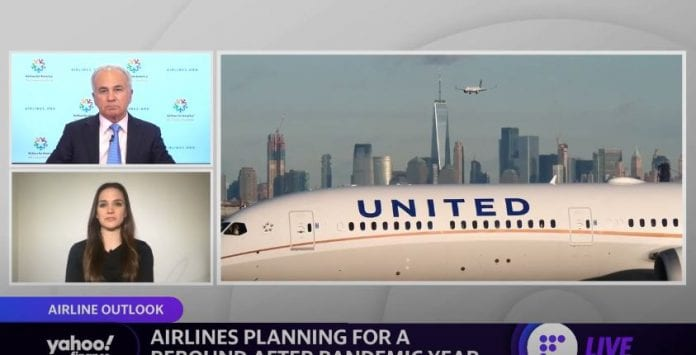 "'The patient is still in intensive care,"": Airlines For America CEO on airline industry recovery"