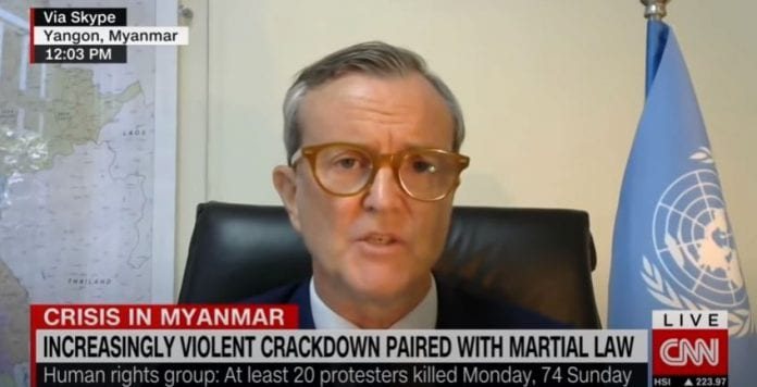 UN official says military are using lethal force in Myanmar