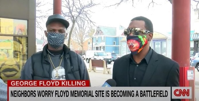 Why George Floyd's memorial site is surrounded by barricades