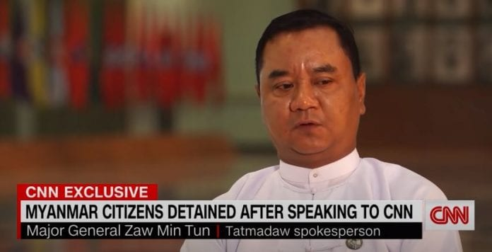 CNN reports from inside Myanmar. Here's what we're seeing