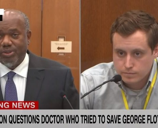 ER doctor who treated George Floyd testifies on cause of death