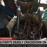 Eyewitnesses recount bloody crackdown in Myanmar