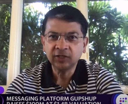 Gupshup CEO on company's valuation of $1.4 billion and the future of customer real time messaging