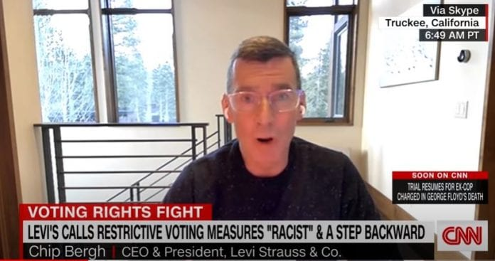 Levi's CEO has message for Mitch McConnell about voting rights