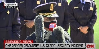 Officer killed after attack near US Capitol