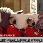 Prince Philip laid to rest at Windsor Castle
