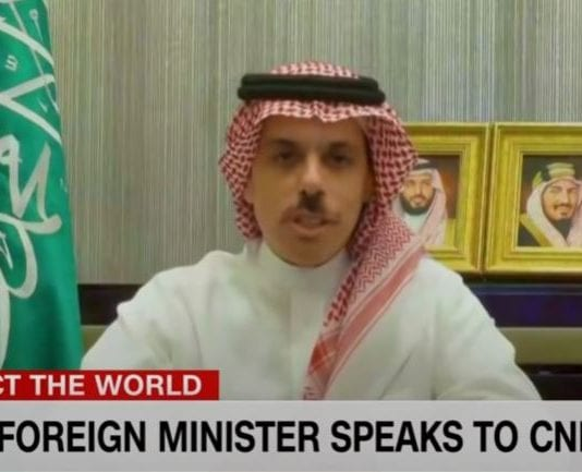 Saudi foreign minister speaks to CNN