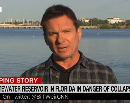Toxic Florida wastewater reservoir on verge of collapse